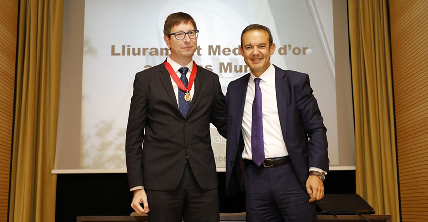 Medalla Mundó CPT